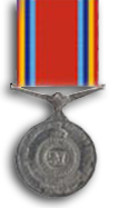 Ceylon Armed Services Long Service Medal (1968)