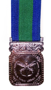 Ceylon Armed Services Inauguration Medal - 1956